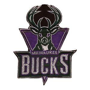 "2003 MILWAUKEE BUCKS NBA BASKETBALL 4 3/8"" TEAM LOGO PATCH"