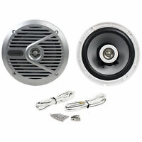 """New Alpine SPS-M601 Pair 6.5"""" 2-Way Marine/Boat Coaxial Speakers"""