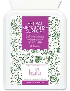 Red Clover Herbal Menopause Support + Soya Isoflavones - 60 Vegan Capsules