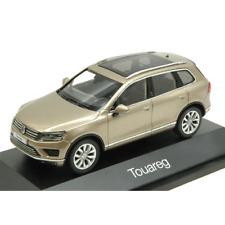 VW TOUAREG FACELIFT 2015 ORO SABBIA 1:43 Herpa Auto Stradali Die Cast Modellino