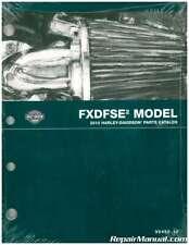 2010 Harley Davidson Fxdfse2 Motorcycle Parts Manual : 99430-10