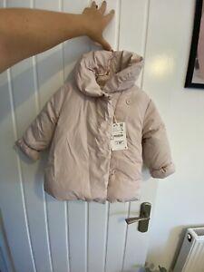 Girls Zara Coat 2-3 New