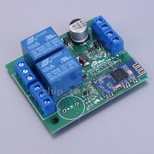 2 Channel BLE Bluetooth Switch Relay Module For Android/iPhone Wireless Remote