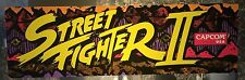 "Street Fighter II (2) Arcade Marquee 26""x8"""