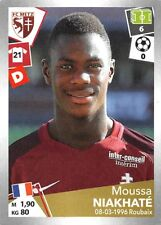 Stickers Panini Foot Championship of France 2017-18 N°240
