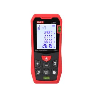 A● UNI-T LM50A Mini Laser Distance Meter Handheld Infrared Measuring Instrument