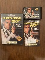 James Bond 007: The Duel (Sega Genesis, 1993) Tested Authentic Works Complete!