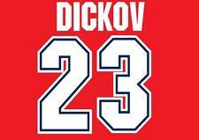 Dickov #23 Arsenal Camisa de fútbol local para hogar 1995-1996