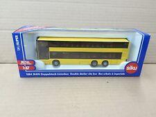 Siku 1/87 Die Cast Man Double Decker City Bus