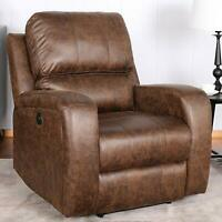 Power Recliner Chair Lazy Boy Sofa Lounge With USB Port Home Theater Living Room