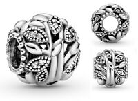 Genuine Pandora Sterling Silver ALE 925 Openwork Family Tree Charm 798879C01