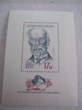 2000 Czech Republic 150th Yearv of Tomas Masaryk M/S u/m Mi.246, A7A10