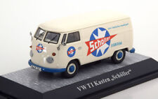 VW VOLKSWAGEN T1 KASTEN SCHOLLER WHITE BLUE PREMIUM CLASSIXXS 13804 1/43 TOLE