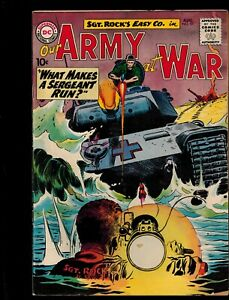 DC SGT ROCKS EASY CO. OUR ARMY AT WAR #97 AUG 1960 FN