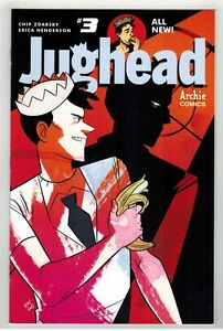 JUGHEAD VOL 3 #3 COLLECTION OF 3 DIFFERENT COVERS - ERICA HENDERSON ART - 2016