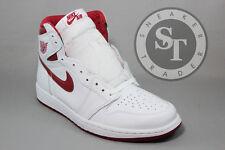 NIKE AIR JORDAN 1 ONE RETRO HIGH OG 555088-103 METALLIC RED WHITE DS SIZE: 11