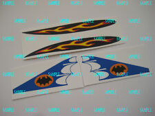 Corgi 107 Batman Custom Glastron Early Batboat Stickers - B2G1F