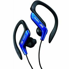 Écouteurs bleus JVC avec fil