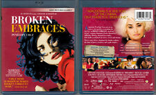 Blu-ray Pedro Almodovar BROKEN EMBRACES Penelope Cruz Lluis Homar Region A OOP
