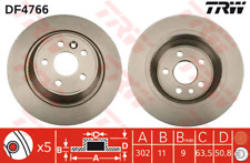 Bremsscheibe (2 Stück) - TRW DF4766