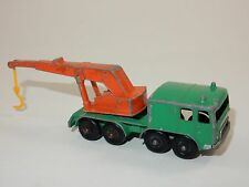 Lesney Matchbox Series No.30 8 Wheel Crane Diecast