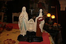 Antique Religious Christianity Shrine Mother Mary-Large Plaster-1925 PS Co. Phil