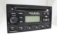 Ford 6000cd RDS e-o-n 6000ne original CD autoradio cuadrada ym21-18k876-kb radio