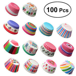 100PCS HIGH QUALITY CUPCAKE CAKE PAPER CUP BAKING CHOCOLATE TRAY DECOR