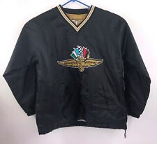 Official Indianapolis Motor Speedway Mens Size Medium Black Pullover Jacket