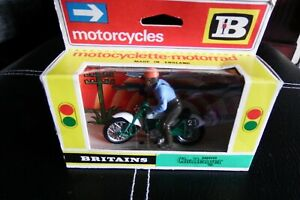 BRITAINS Greeves Challenger Motorcycle 9691 1.32, BOXED from new 1960's!