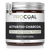 PROCOAL Activated Charcoal Teeth Whitening Powder 60ml (Premium Grade) 60ml