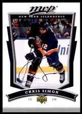2007-08 Upper Deck MVP Chris Simon #146