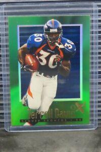 1997 Skybox E-X2000 Terrell Davis #38 Broncos E332