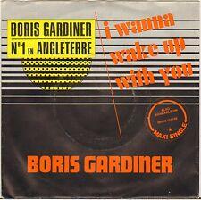 "BORIS GARDINER ""I WANNA WAKE UP WITH YOU"" REGGAE 70'S SP"