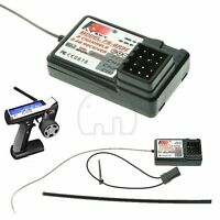 FlySky 3CH 2.4G FS-GR3E Receiver for GT2 and GT3 For RC Car Boat Remote