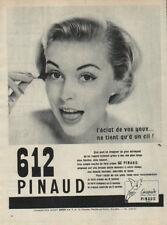 Publicité Advertising  612 PINAUD fard creme
