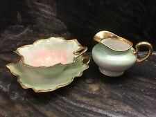 Elegant Vintage 3-Piece Limoges Sugar & Creamer Set