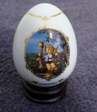 "The Danbury Mint M.J. Hummel Porcelann Egg Collection ""Apple Tree Boy"""