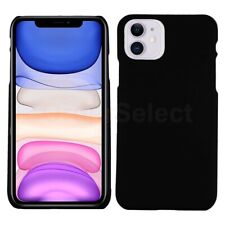 Lightweight Hard Plastic Protective Case Black for Apple iPhone 11