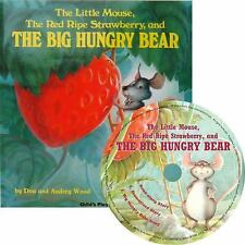 THE LITTLE MOUSE, THE RED RIPE STRAWBERRY AND THE BIG HUNGRY BEAR - WOOD, AUDREY