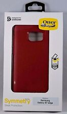 NEW! OtterBox Symmetry Series Case for Samsung Galaxy S7 edge - Flame / Race Red