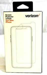 New Verizon 3-Pack Screen Protector for 2017 New iPhone