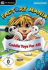 Factory Mania - Cuddle Toy For All! PC NEW