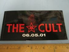 The Cult 2001 Beyond Good And Evil Promotional Sticker New Old Stock Flawless