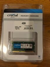 Crucial 4GB DDR3 1066MHz PC3-8500 SO-DIMM  CT4G3S1067M upc 649528761965