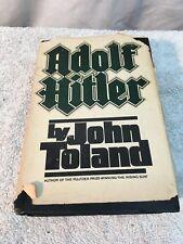 Adolf Hitler Volume 1 by John Toland , Double Day 1976  hardcover book