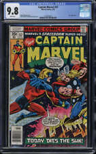 Captain Marvel #57 CGC 9.8 WP Thor Appearance