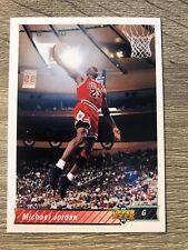 Michael Jordan 1992-93 Upper Deck #23 NBA Chicago Bulls