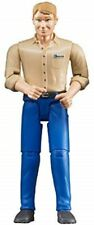 New Bruder bworld Man with Light Skin/Blue Jeans Toy Figure 60006