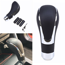 Universal Genuine Leather Automatic Car Shift Knob Manual Gear Stick Shifter